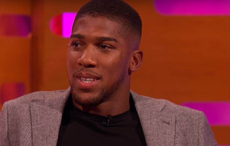 Anthony Joshua Angrily Breaks Character In Response To Critics